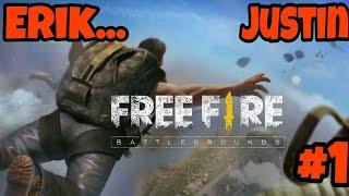 Free Fire - Battlegrounds #1 Erik/Justin