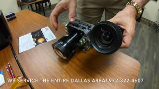 JVC RS1000 / RS2000 Lens VS RS3000 Lens Comparison and Up Close Look NX5 NX7 NX9