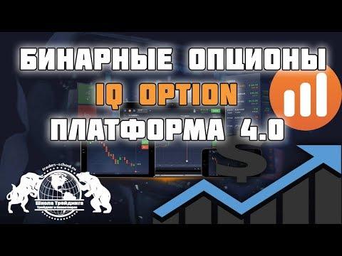 Бинарные Опционы - IQ Option платформа 4.0!
