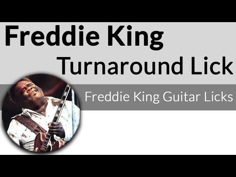 Freddie King Turnaround-Freddie King Guitar Licks