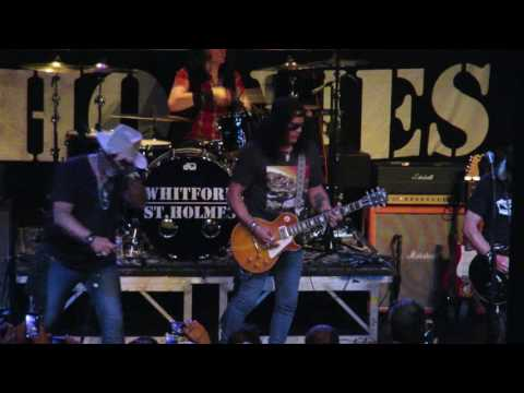 Whitford St Holmes Featuring Slash – Last Child, Hey Baby, Stranglehold July 7 2016 Nashville