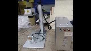 Кратко о том как настроить лазерный волоконный станок в программе EzCad