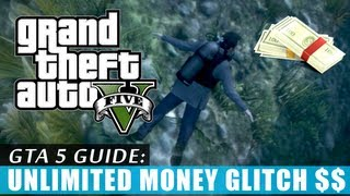 GTA 5: Unlimited money glitch (Tutorial) exploit HD