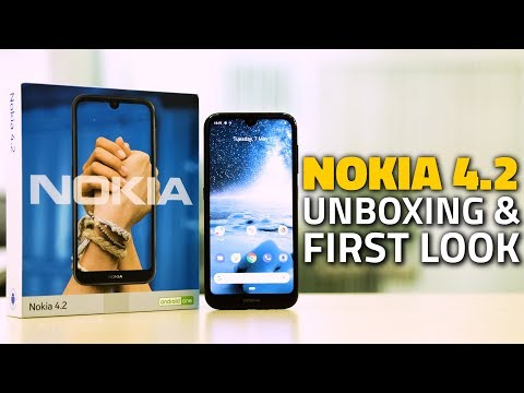 Nokia 4 2 Unboxing and First Look | Price in India, Features