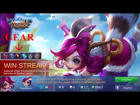 12 WIN STREAK [ NANA ] - MOBILE LEGEND