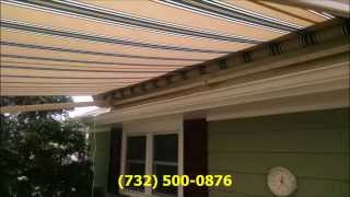 Lots Of Deck And Patio Awning Jobs 2015 By Shade One Awnings Monmouth Ocean County Sunsetter Dealer