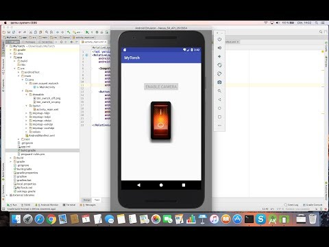 Create A Torch Flashlight Application For Android