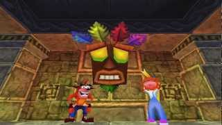 Crash Bash Walkthrough Part 1 HD 200% Warp Room 1 (Intro)
