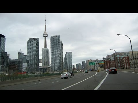 Toronto  City Tour - FAST HD TOUR 2016