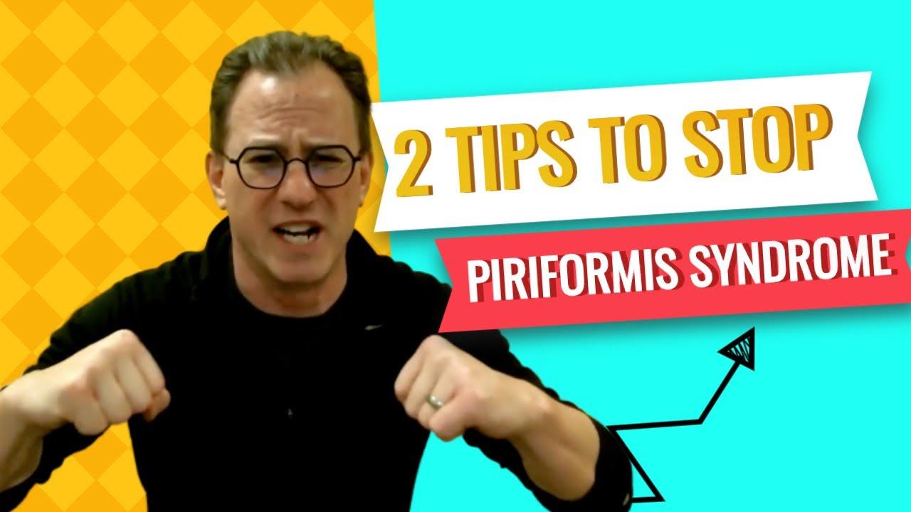Piriformis Syndrome Treatment - 2 Best Tips To Stop Piriformis Pain Today