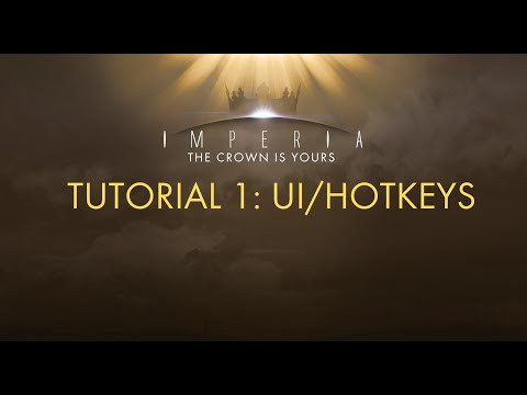 Imperia 5X Space Strategy Tutorial #1 - UI/Hotkeys