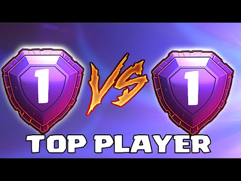 Clash Of Clans - LEGEND VS LEGEND PLAYER!! (TOP PLAYER FIGHTS)