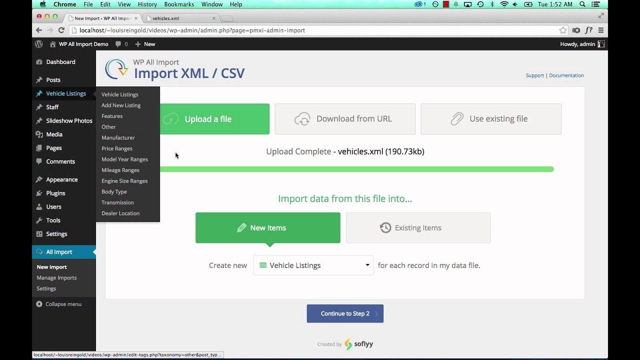 Free Wordpress Xml Import Plugin