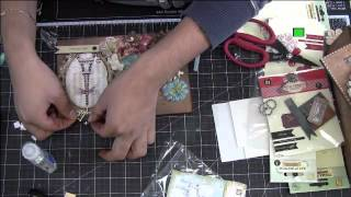 Altered Box: Crafter's Home With Frank On Live With Prima