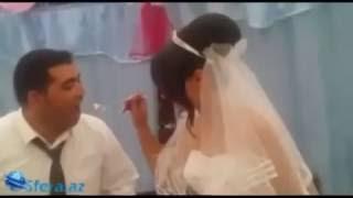 Неудачная шутка на свадьбе...