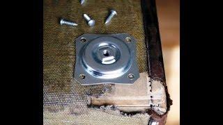 Делаем столик из старого чемодана(Как сделать столик. В этом видео мы расскажем, как чемодан можно превратить в необычный, оригинальный журна..., 2014-08-01T09:50:09.000Z)