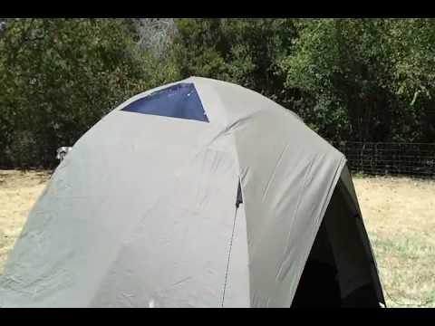 Eddie Bauer Tent & Eddie Bauer Tent - YouTube