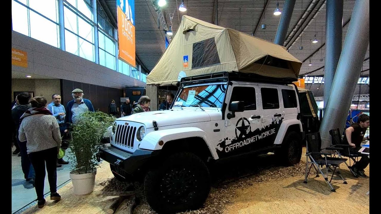 Jeep wrangler unlimited camper