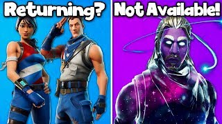 5 SKINS RAREST DE UPCOMING à Fortnite! (2019 Rares skins)