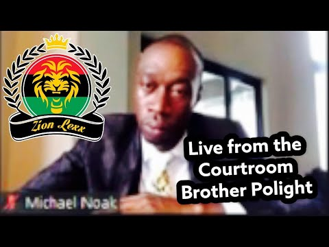 """Live from the Miami Florida Courtroom Brother Polight 9/17/21 (""""Fair Use"""")"""