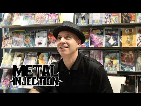 Alan Robert (LIFE OF AGONY) Discusses His Horror Coloring Book & Artwork | Metal Injection