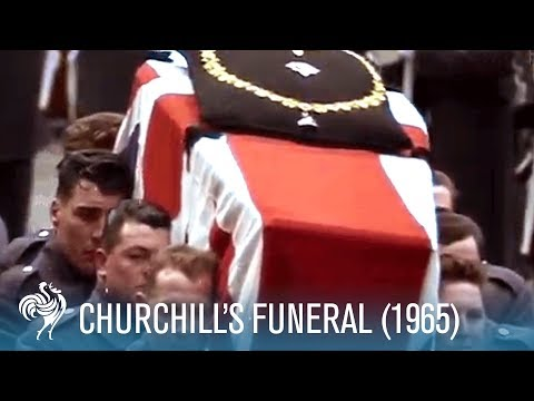 Sir Winston Churchill's Funeral: A World In Remembrance (1965) | British Pathé