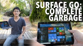 Ex-Google Tech Lead reviews the new Microsoft Surface Go tablet/lap...