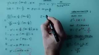 Den logistiske differentialligning