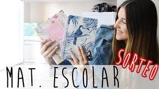 MI AGENDA 2018 | Haul material escolar + SORTEO!!