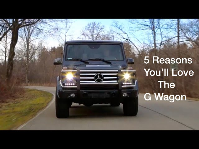 5 Reasons You'll Love The '15 Mercedes G550