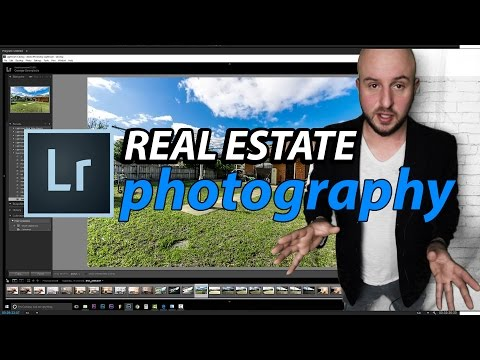Lightroom Tutorial 2016 - How I edit Real Estate Photos - Tutorial Part 1 Adobe