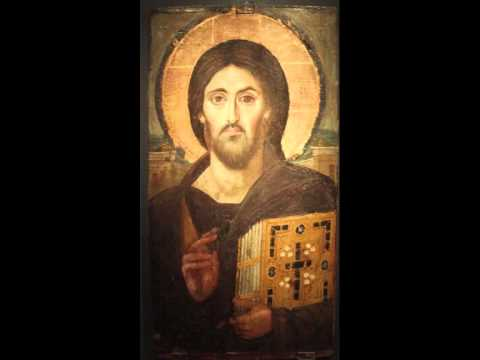 Alleluia, Behold the Bridegroom cometh at midnight... (Holy Week Troparion)