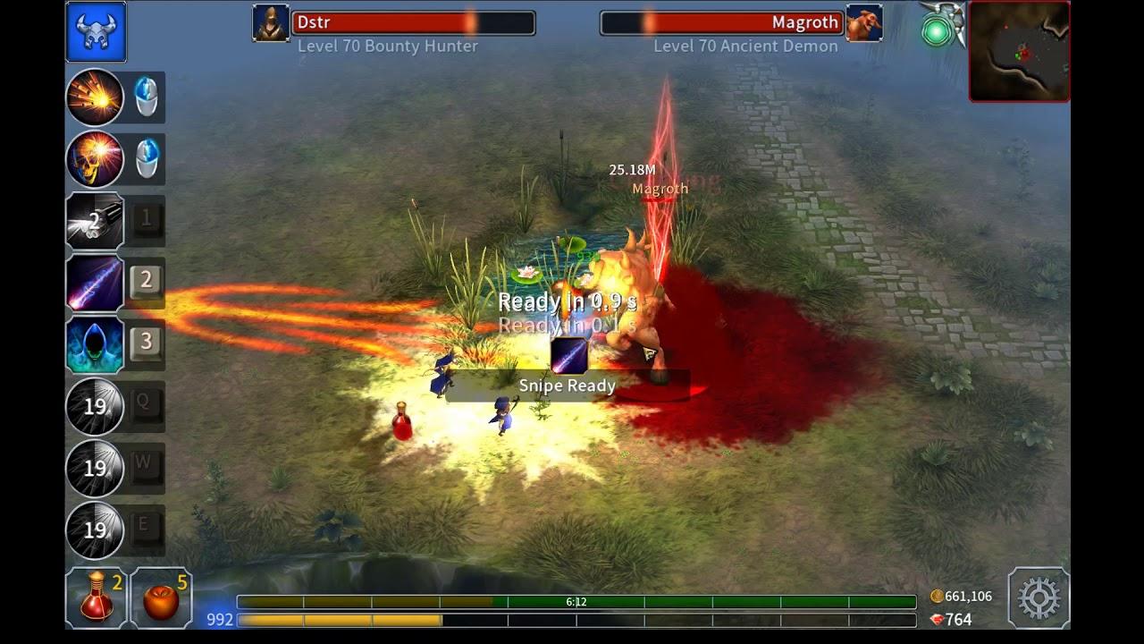 Eternium: Mage and Minions - Bounty Hunter, Trial 99, Gear Farm