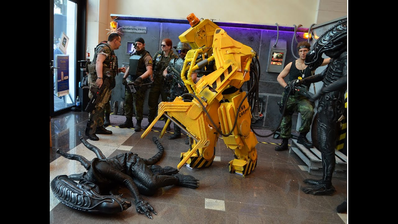 Baby´s Powerloader costume at the FedCon 2014 meets Tony Curran - YouTube & Baby´s Powerloader costume at the FedCon 2014 meets Tony Curran ...