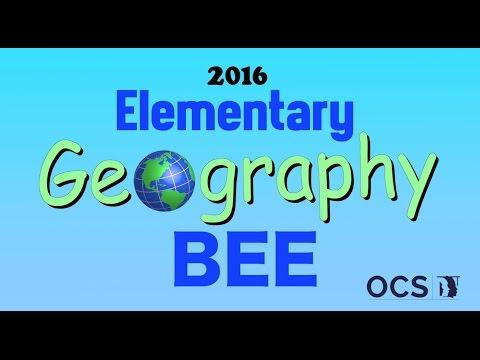 Elementary Geo Bee 2016