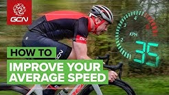 How To Improve Your Average Speed On A Road Bike