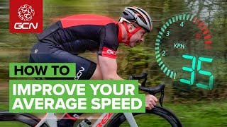 Download How To Improve Your Average Speed On A Road Bike Mp3 and Videos