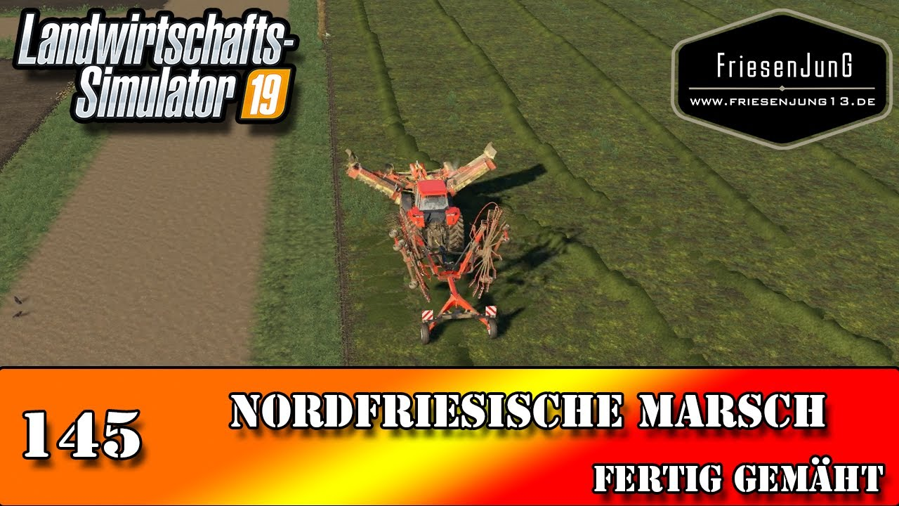 LS19 Nordfriesische Marsch 145 - Fertig gemäht