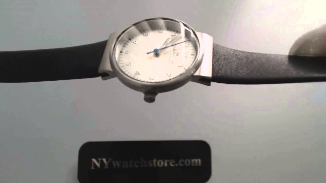 how to remove the back of a skagen watch