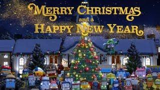 Робокар Поли - Рождественская песенка (Merry Christmas) | Песенка для детей