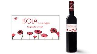 Cata del vino isola tinto de mont-reaga