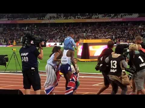 The Moment Mo Farah Won The Men's 10,000 Metres | London 2017 IAAF World Championship