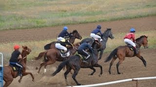 Скачки на лошадях Элиста 16 мая 2013г.  III заезд, 1600 метров(, 2013-05-25T18:46:35.000Z)