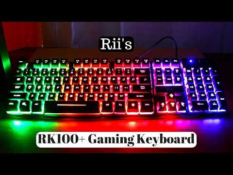 Rii's RK100+ Gaming Keyboard