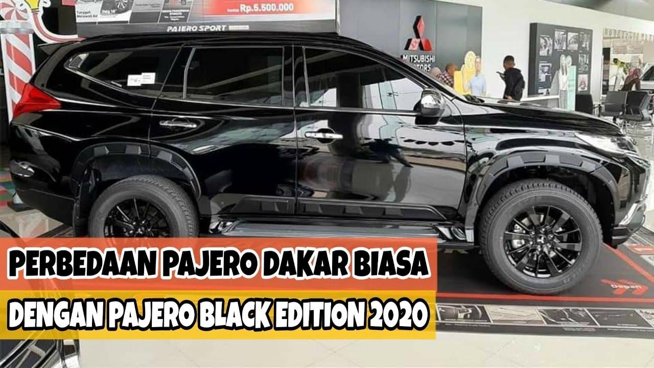 Perbedaan Antara Mitsubishi Pajero Sport Black Edition Terbaru 2020 dengan Pajero Sport Dakar Biasa