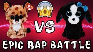 Beanie Boos Epic Rap Battle Tracey vs Buckwheat Cat vs Dog