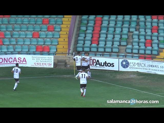 Resumen CF Salmantino UDS 2-1 CD Burgos Promesas