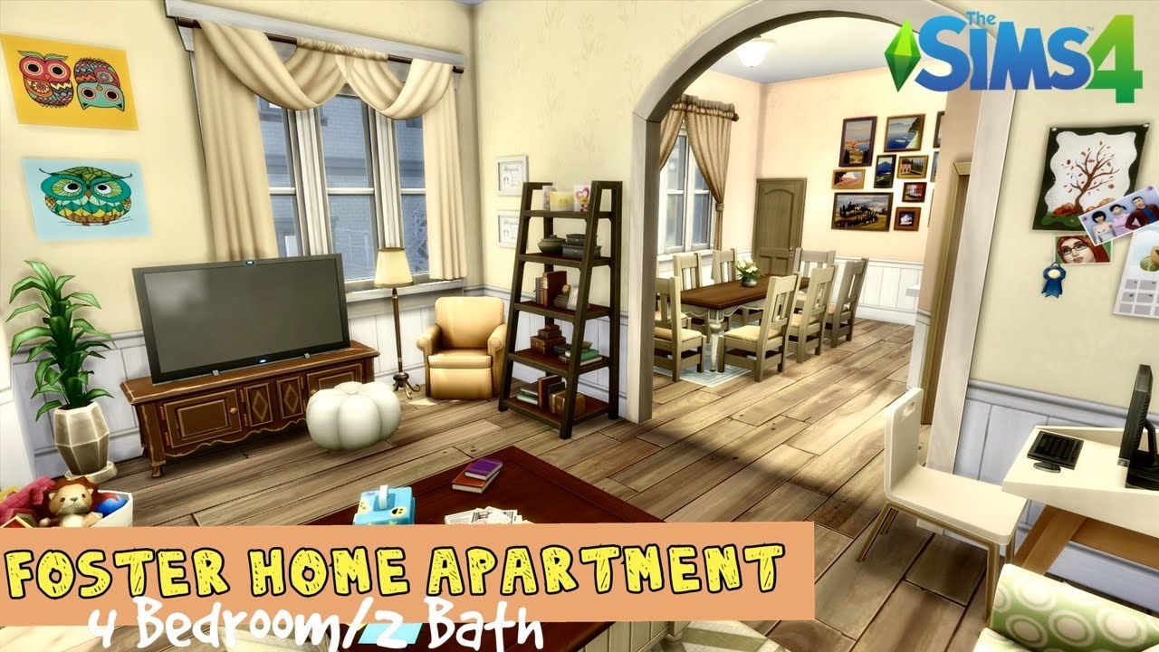 The official subreddit for the sims franchise. Foster Home Family Apartment | 4 Bedroom/2 Bath | Speed ...