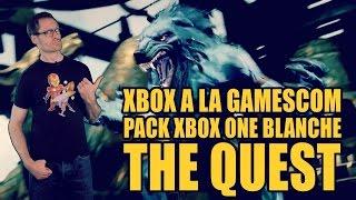 #Gamerxpress 312 Gamescom Microsoft. Xbox One + jeu à 400 euros. The Quest. Concours.