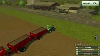 FARMING SIMULATOR 2013......even a HUGER TRAIN OF TRAILERS AND FULL OF CANOLA(lets see how much money we get from all these trailers., 2012-12-23T02:08:36.000Z)